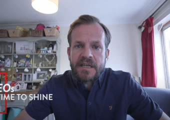 Alastair Banks CEO time to shine